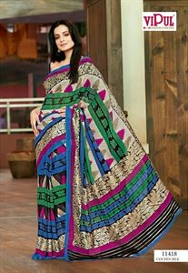 Picture of Art Silk Saree -11418