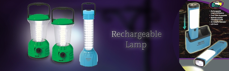 Picture for category Rechargable Lamp