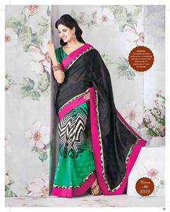 Picture of Art silk saree-9319