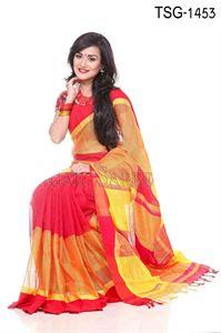 Picture of Cotton Kuta Saree - TSG-1453
