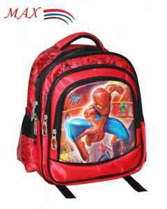 Picture of MAX SCHOOL BAG M-2056 RED