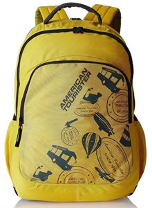 Picture of  American Tourister Yellow Casual Backpack (69W (0) 06 001)