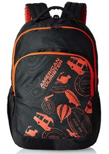 Picture of American Tourister Black Casual Backpack (69W (0) 09 001)
