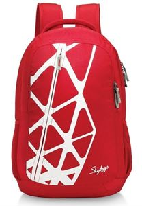 Picture of SKYBAGS GEEK 04 LAPTOP BACKPACK RED