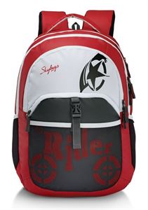 Picture of SKYBAGS RAIDER 01 BACKPACK RED