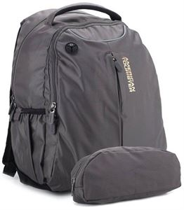 Picture of American Tourister Citi-Pro Nylon Grey Laptop Backpack - R50 (0) 08 006