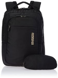 Picture of American Tourister Citi-Pro Nylon Black Laptop Backpack - R50*09005