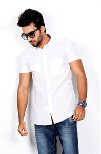 Picture of Le Reve Short Sleeve Casual Shirt - MSCS14179