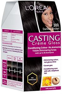 Picture of L'Oreal Paris Casting Creme Gloss Darkest Brown 300