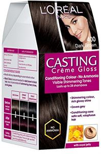 Picture of L'Oreal Paris Casting Creme Gloss, Dark Brown 400