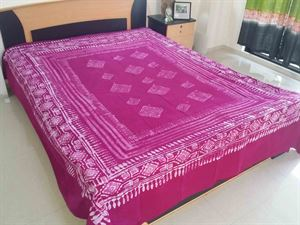 Picture of Blok Batik Bed Cover-code BS-172