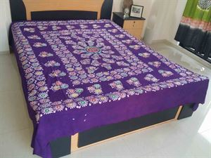 Picture of Blok Batik Bed Cover-code BS-174