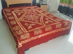 Picture of Blok Batik Bed Cover-code BS-175