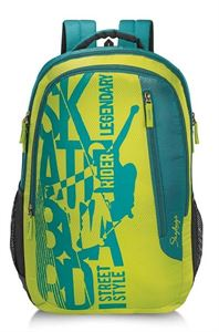 Picture of SKYBAGS PIXEL PLUS 01 BACKPACK LIME GREEN