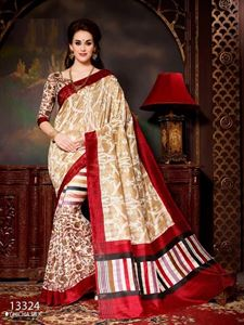Picture of Art silk Saree-13324