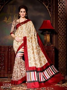 Picture of Art silk Saree-13324