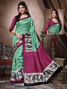 Picture of Art silk Saree-14249