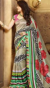 Picture of Art silk Saree-17002