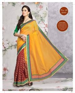 Picture of Art silk Saree-9345