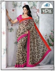 Picture of Art silk Saree17004