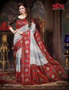 Picture of Art silk Saree-13315