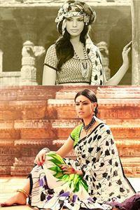 Picture of Art silk Saree-17008