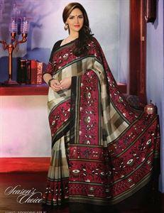 Picture of Art silk Saree-17010
