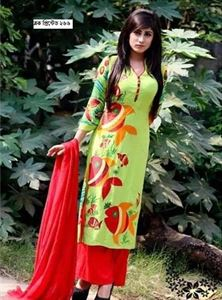 Picture of Block Printed Salwar Kamiz - 007