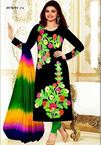 Picture of Block Printed Salwar Kamiz - 004