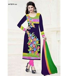Picture of Block Printed Salwar Kamiz - 010