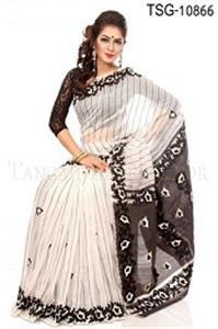 Picture of Pure Andy Silk Saree - TSG-10866