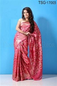 Picture of Jongla Katan Saree - TSG - 17003
