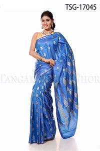 Picture of Buty Katan Saree - TSG - 17045