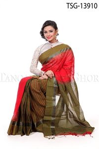 Picture of Gas Silk Saree - TSG - 13910