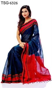 Picture of Masslice cotton Saree-TSG-6326