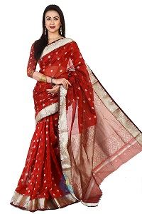 Picture of Chosa Silk Saree - MJS-301
