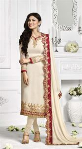 Picture of Indian Designer Salwar Kameez (Replica) 02