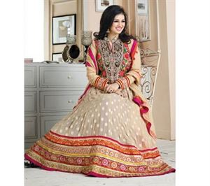 Picture of Indian Designer Salwar Kameez (Replica) 03