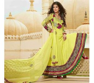 Picture of Indian Designer Salwar Kameez (Replica) 05