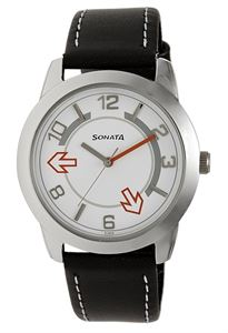 Picture of Sonata Men's Watch - 7924SL03