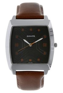 Picture of Sonata Men's Watch - 77064SL03