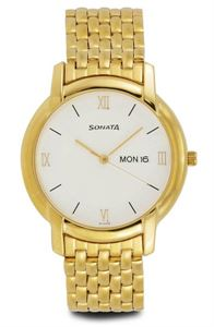 Picture of Sonata Men's Watch - 7954YM01