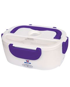 Picture of WALTON Electric Lunch Box WELB-RB02 - Purple/White