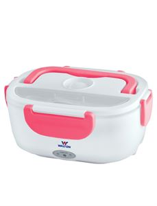Picture of WALTON Electric Lunch Box WELB-RB02 - Pink/White