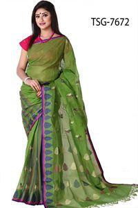 Picture of Cotton Jamdani Saree - TSG-7672