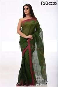 Picture of Cotton Saree - TSG-2206