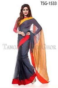Picture of Soft Cotton Saree - TSG-1533