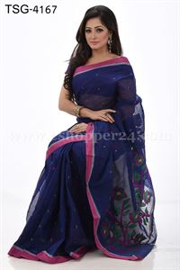 Picture of Cotton Saree - TSG-4167