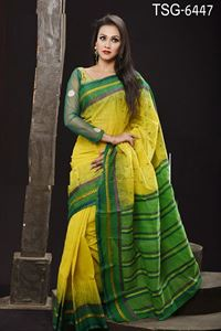 Picture of Cotton Saree - TSG-6447
