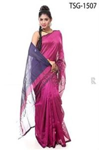 Picture of Silk & Cotton Mixed Saree - TSG-1507